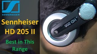 Unboxing and Overview - Sennheiser HD 205 II