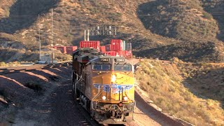 HD: Cajon And Mojave Subdivision Railfanning In August 2014
