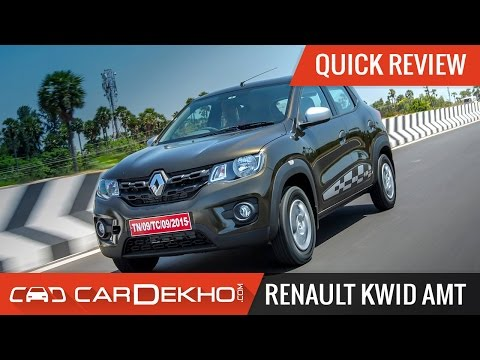 Renault Kwid AMT | Quick Review