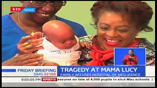 Nairobi couple crying for justice after losing twins at Mama Lucy Hospital