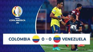 HIGHLIGHTS COLOMBIA 0 - 0 VENEZUELA   COPA AMÉRICA 2021   17-06-21