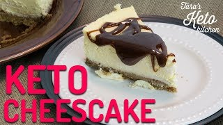 BEST Keto Cheesecake Recipe: Creamy & Delicious Low Carb Cheesecake (2019 Gourmet Cheesecake)