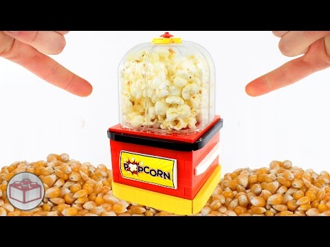 How To Build a Working LEGO Popcorn Maker