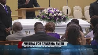 Funeral held for woman who died after apartment fire
