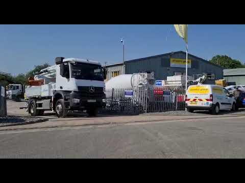 Sermac 4ZR20 City Pump Truck Mounted Concrete Pump