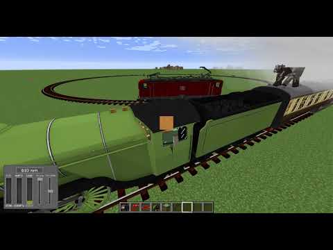 Track API Demo with Immersive Railroading + Trains Mod