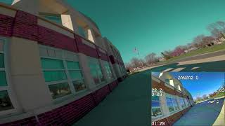 Almost Got Stuck on the Roof! | FPV FREESTYLE