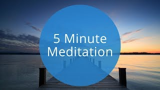 5 Minute Guided Meditation | Quick 5 Minute Meditation to Relax and Recharge by Breethe.