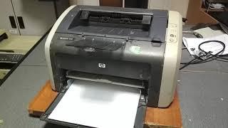 HP LaserJet 1010 печатает белый лист - РЕШЕНИЕ