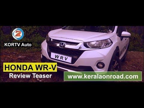 Honda WRV Review Teaser