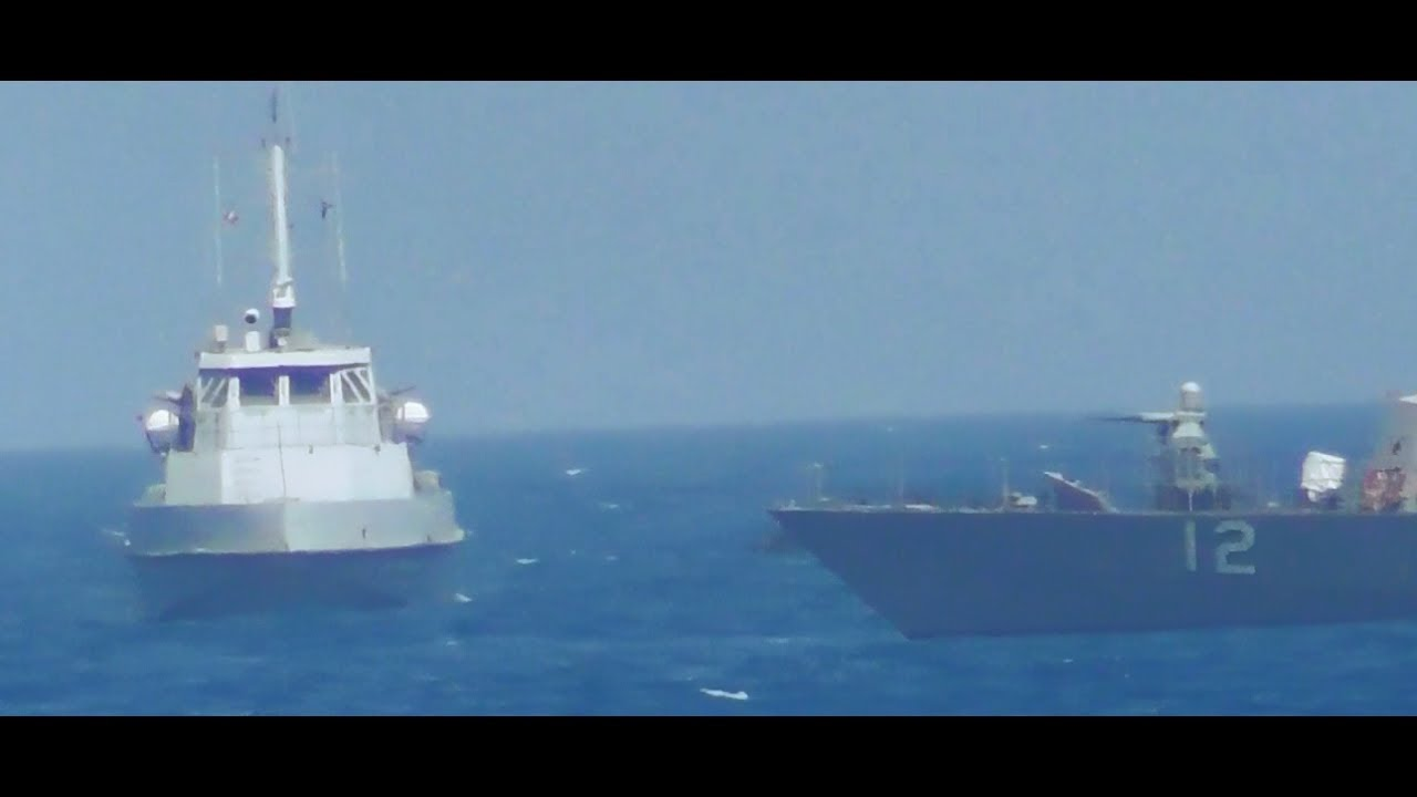 VIDEO: USS Thunderbolt Fired Warning Shots at Iranian Patrol Boat to Protect U.S. Guided-Missile Cruiser Vella Gulf