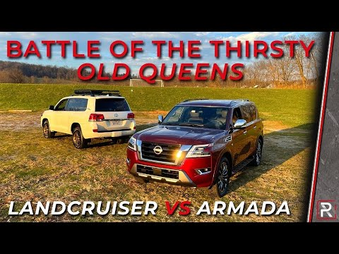 2021 Nissan Armada Vs. 2021 Toyota Land Cruiser Heritage Edition – Redline: Comparison