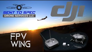 DJI FPV Wing!