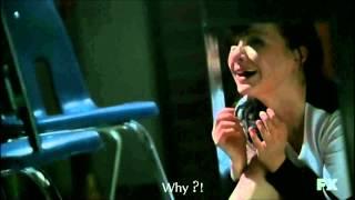 """AHS Episode 106 """"Piggy, Piggy"""" - Scène d'ouverture: Westfield High Massacre"""