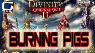 DIVINITY ORIGINAL SIN 2 - Burning Pigs Quest Walkthrough