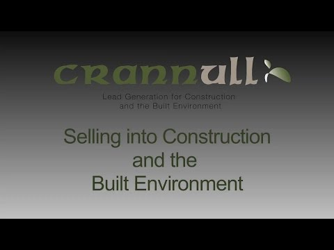 Selling into Construction and Built Environment