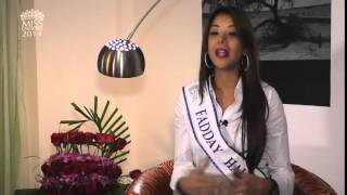 Faddya Isabel Halabi Troisi for Miss Tourism International 2014