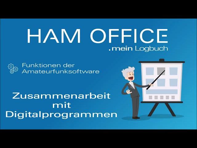 Youtube-Startbild zu HAM OFFICE Funktionen: Zusammenarbeit mit Digitalprogrammen