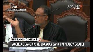 Saksi Tim Prabowo Agus Maksum Tolak Buka Identitas Pengancam Dirinya