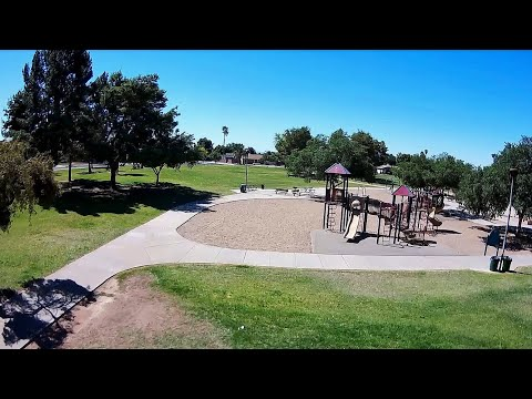 Geprc Cinequeen 4k - FPV Gaping Trees At Park April Sunday Morning