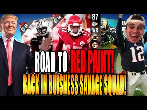 ROAD TO RED PAINT! WE BACK BABY 4TH QUARTER THRILLER! MADDEN 17 ULTIMATE TEAM GAMEPLAY