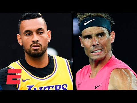Nick Kyrgios honors Kobe Bryant, Rafael Nadal advances | 2020 Australian Open Highlights