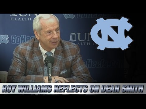 Video: Roy Williams Press Conference Reflecting on the Passing of Dean Smith