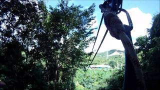 preview picture of video 'Antigua Zip Lines over the Rainforest'