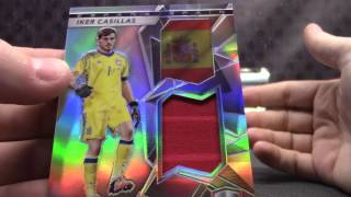 2016 Spectra Soccer 6 Box Case Break Serial #s GB