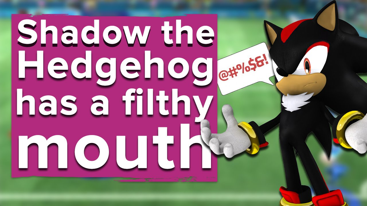 Shadow The Hedgehog Is My New Favourite Character