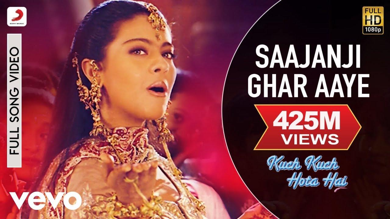 Saajanji Ghar Aaye - Kuch Kuch Hota Hai|Shah Rukh Khan,Kajol|Alka Yagnik - Kumar Sanu, Alka Yagnik and Kavita Krishnamurthy Lyrics in hindi