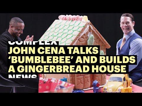 john-cena-talks-bumblebee-while-building-a-gingerbread-house