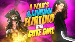 9 Years Old Ajju Bhai Prank With Cute Girl On Garena Freefire -9 Years Old Kid Prank