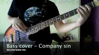 bass cover : company sin - the john butler trio