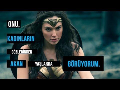 İstediğiniz Her Şey Olabilirsiniz.   Lynda Carter - Wonder Woman