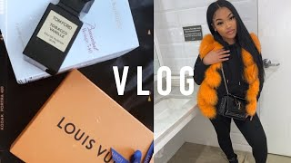VLOG : GETTING BACK INTO A ROUTINE + GETTING ORGANIZED, ATTEMPTING TO BUY GIVEWAY GIFT  | KIRAH O