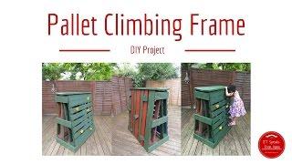 How to make Pallet Climbing Frame / Rock Climbing with RYOBI Tools