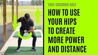 GOLF: How To Use Your Hips Like Dustin Johnson To Create More Power and DIstance