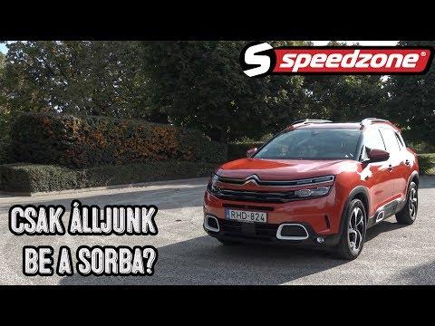 Speedzone teszt: Citroën C5 Aircross 1.5 HDi: Csak álljunk be a sorba?