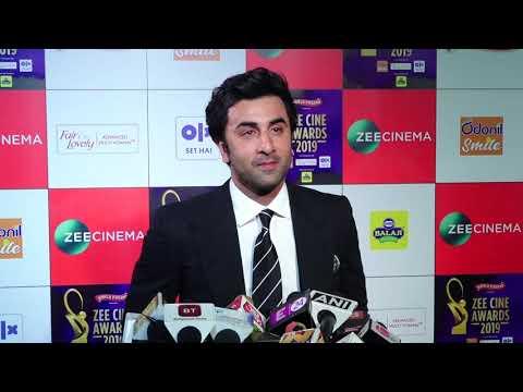 "Ranbir Kapoor: ""Amitabh Bachchan Sir is like a Family to Me"" | Zee Cine Awards 2019"