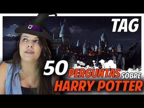 TAG 50 perguntas sobre Harry Potter