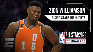 Zion Williamson, Ja Morant put on a show for Team USA in Rising Stars game | 2019-20 NBA Highlights