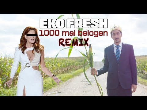 Eko Fresh - Du hast mich 1000 mal belogen Video (Schlager Song an Andrea Berg)