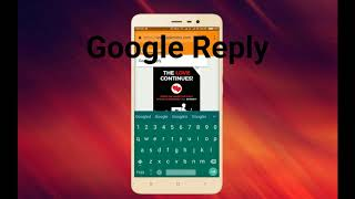 Google Reply Beta APK download and install