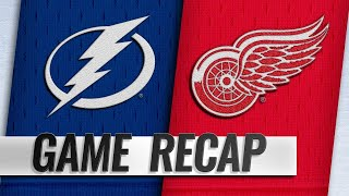 Lightning score five straight goals in 5-4 win