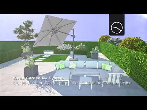 Siena Garden Sonnenschirm | PlatinumParasol