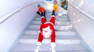 Как поймать РЕАЛЬНОГО Санту!!! How to catch REAL Santa !!!