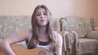 девушка классно поет,круто поет,красивый голос,шикарно поет,талант,кавер,cover Miley Cyrus Wreck