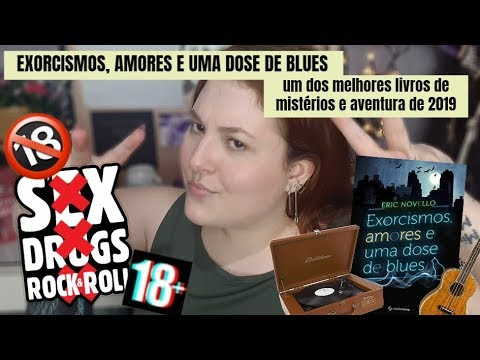 EXORCISMOS AMORES E UMA DOSE DE BLUES | RESENHA META LITERÁRIA