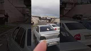 Частный сектор и дороги затопило в Семее